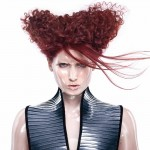 NEWCOMER HAIRSTYLIST OF THE YEAR Hair: Chris Rushton / Photo: Timothy R. Lowery