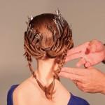 Step 6 - Fare lo stesso nella parte destra della testa