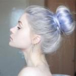 Azzurro Serenity: tendenza capelli 2016