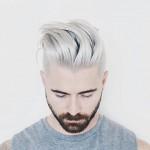 Capelli uomo 2016: silver e pastello