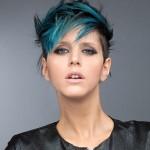 Green hair: trend dei capelli castani