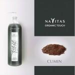 Cumin shampoo di Navitas Organic Touch nel formato da rivendita 250ml