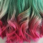 Watermalon hair: capelli color anguria